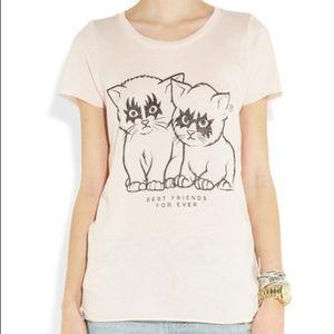 🦄 Zoe Karssen Best Friends For Ever Cat T Shirt